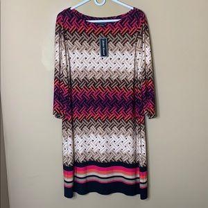 NWT Jessica Howard patterned dress